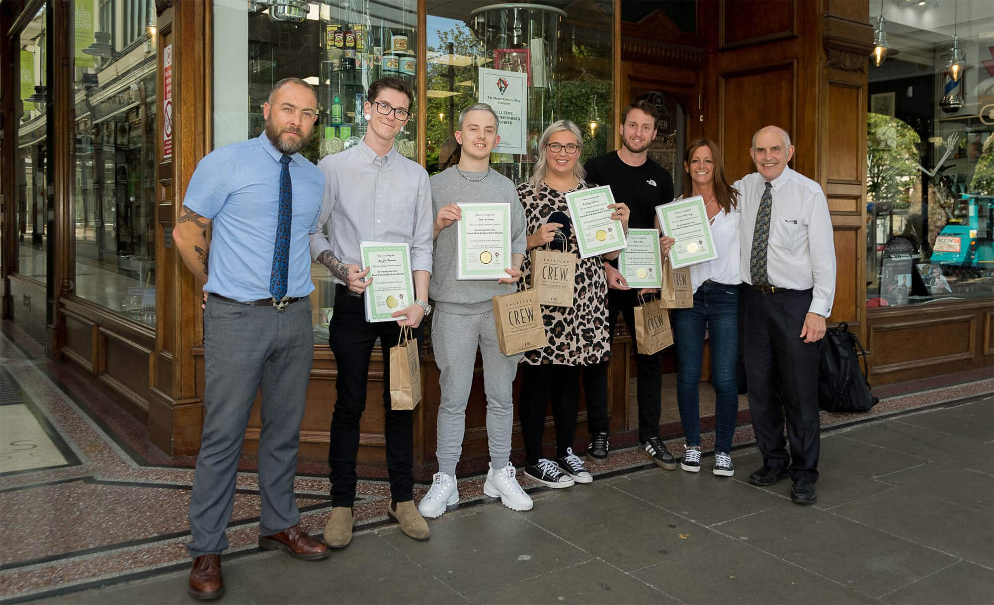 The Master Barbers Courses